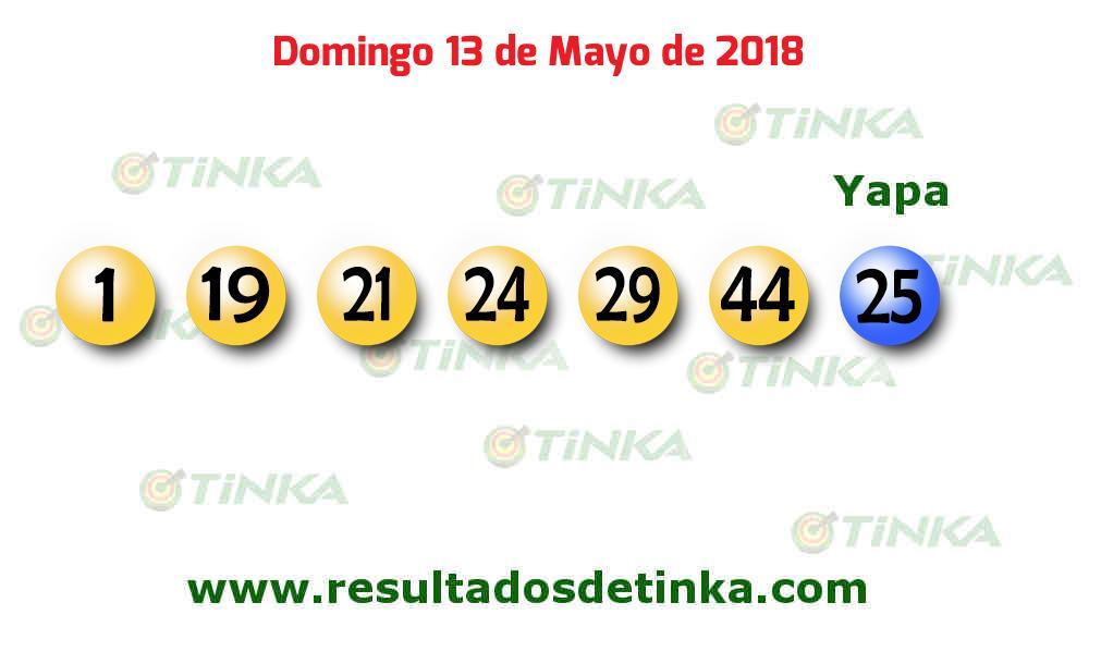 13 de mayo 2018